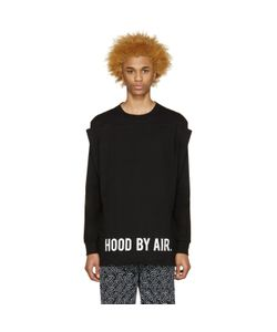 HOOD BY AIR | Black Squared T-Shirt