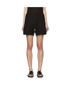 BORIS BIDJAN SABERI | Black Drawstring Shorts