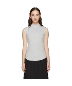 NOMIA | Ribbed Sleeveless T-Shirt