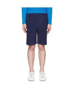HOMME PLISSE ISSEY MIYAKE | Homme Plissé Issey Miyake Blue Pleated Shorts