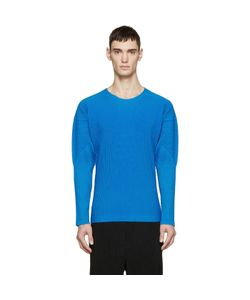 HOMME PLISSE ISSEY MIYAKE | Homme Plissé Issey Miyake Blue Pleated Pullover