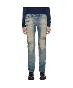 Diesel | Blue Distressed Thavar Jeans