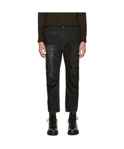 Diesel | Black Coated Narrot Jeans