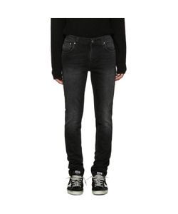Nudie Jeans Co | Nudie Jeans Black Thin Finn Jeans