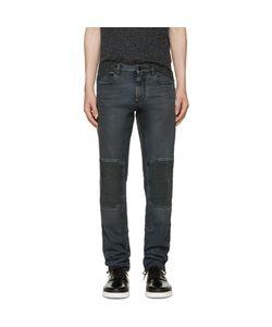 Belstaff | Black Coated Overdyed Jeans