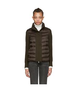Moncler | Brown Quilted Down Jacket
