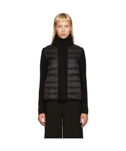 Moncler | Black Down And Knit Jacket