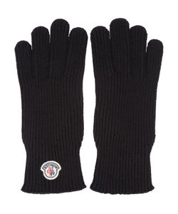 Moncler | Black Wool Gloves