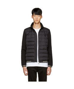 Moncler | Black Down Maglia Sweater