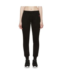 Mcq Alexander Mcqueen | Black Embroidered Lounge Pants