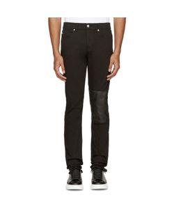 Mcq Alexander Mcqueen | Black Patch Strummer 01 Jeans