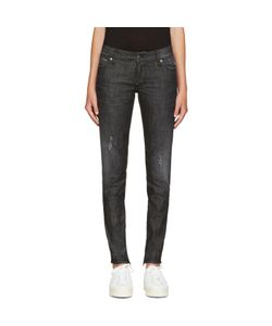 Dsquared2 | Black Distressed Skinny Jeans