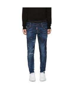 Dsquared2 | Blue Uniform Mixed Jeans