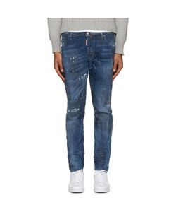 Dsquared2 | Blue Studded M.B. Jeans