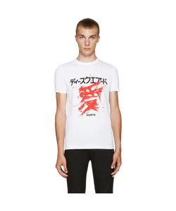 Dsquared2 | White Graphic T-Shirt