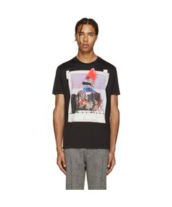 Dsquared2 | Black Picture Print Chic Dan T-Shirt