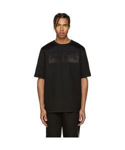 Helmut Lang | Black Oversized Logo T-Shirt