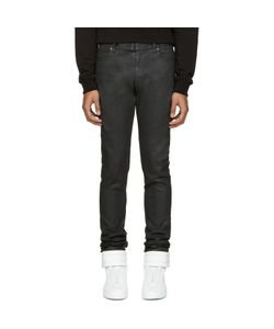 Maison Margiela | Black Coated Jeans