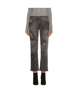 Christopher Kane | Grey Spray Paint Jeans