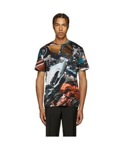 Christopher Kane | Multicolor Car Crash T-Shirt