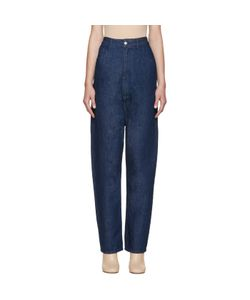MM6 by Maison Margiela | Mm6 Maison Margiela Indigo High-Rise Jeans