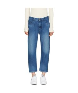 MM6 by Maison Margiela | Mm6 Maison Margiela Blue Stonewashed Jeans