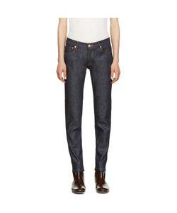 A.P.C. | Indigo Cropped Skinny Jeans