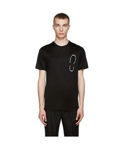Lanvin | Black Shoe Print T-Shirt