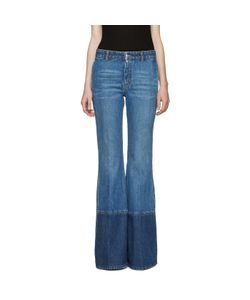 Alexander McQueen | Blue Flared Jeans