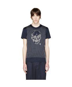 Alexander McQueen | Navy Skull T-Shirt