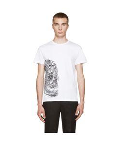Alexander McQueen | White Butterfly Skull T-Shirt