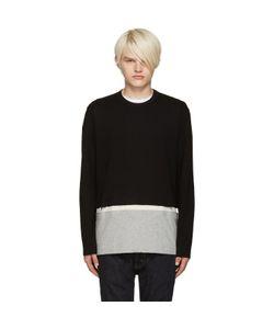 Comme Des Garcons | Comme Des Garçons Shirt Black Cut-Out T-Shirt