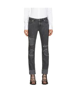 Givenchy | Grey Distressed Jeans