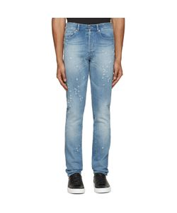 Givenchy | Blue Distressed Jeans