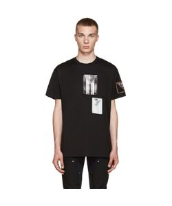 Givenchy | Black Patchwork T-Shirt