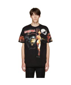 Givenchy | Black Distressed Printed T-Shirt