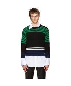 Raf Simons | Multicolor Wool Shrunken Sweater