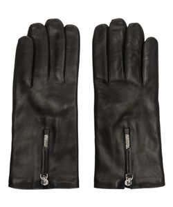 Want Les Essentiels | Black Leather Gloves