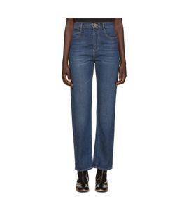 Chloe | Chloé Blue Straight-Leg Jeans