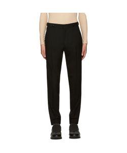 JUUN.J | Black Wool Trousers