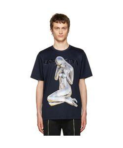 JUUN.J | Navy Sorayama T-Shirt