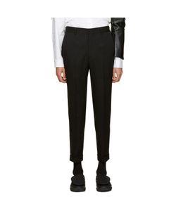 COMME DES GARCONS HOMME PLUS | Comme Des Garçons Homme Plus Black Wool Trousers