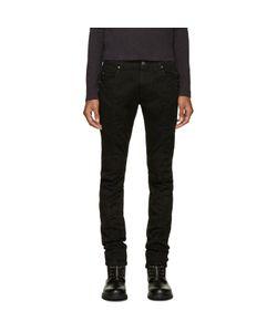 Pierre Balmain | Black Biker Jeans
