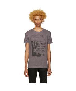 Pierre Balmain | Grey Graphic T-Shirt