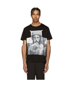 Neil Barrett | Black Tattooed Statue T-Shirt