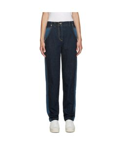 Kenzo | Blue Two-Tone Jeans