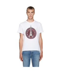 Kenzo | White Eiffel Tower T-Shirt