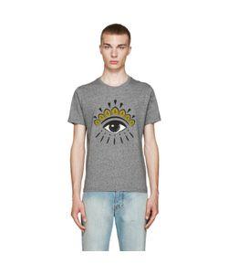 Kenzo | Grey Eye Logo T-Shirt