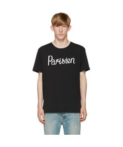 Maison Kitsune | Maison Kitsuné Black Parisien T-Shirt