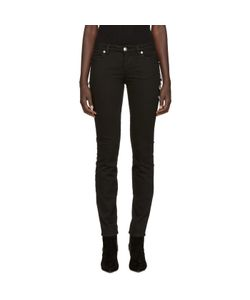 Versus | Black Safety Pin Skinny Jeans